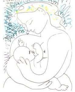 Picasso Karte Mutter