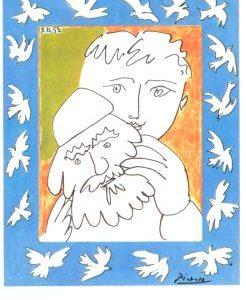 Picasso Karte Maske