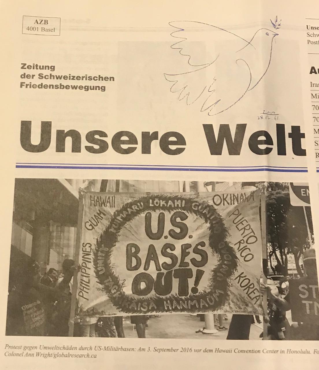 «Unsere Welt» 3/19